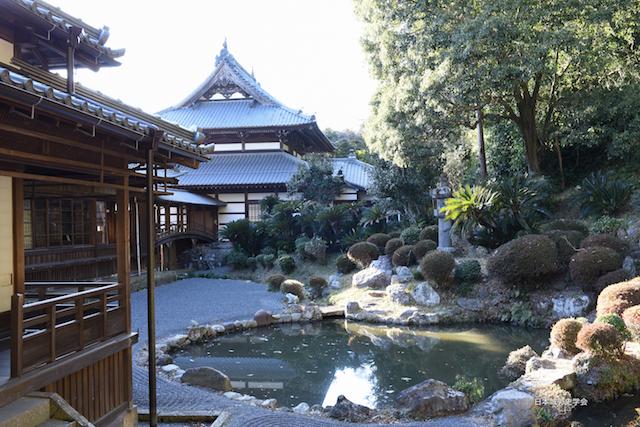 清見寺の戸時代の初期、山本道斉の築庭と言われる庭園