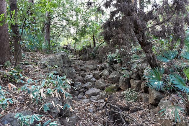 滝の城滝跡